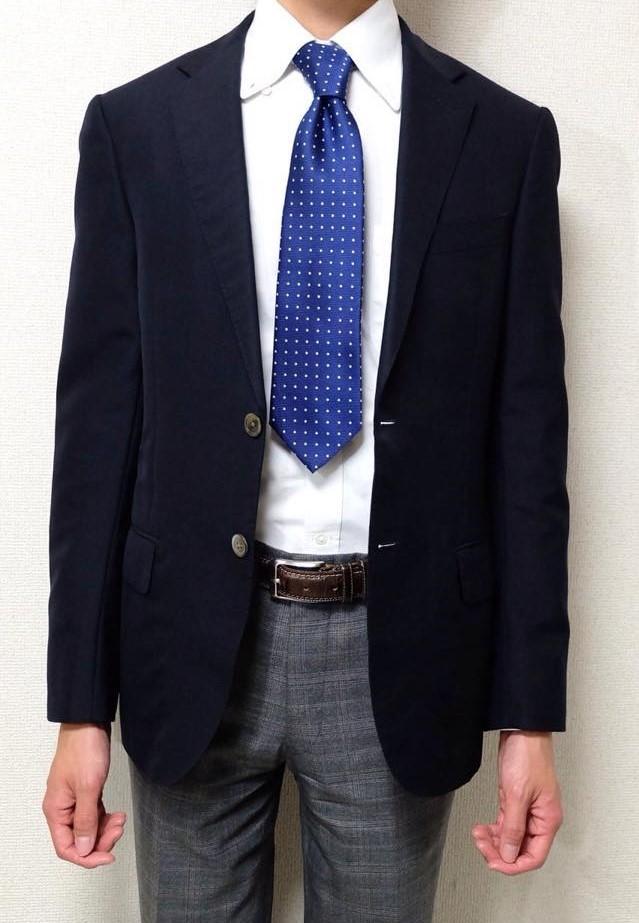 ネクタイ短