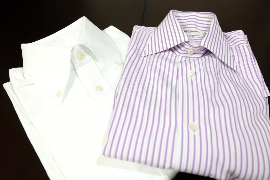 1・シャツの襟型
