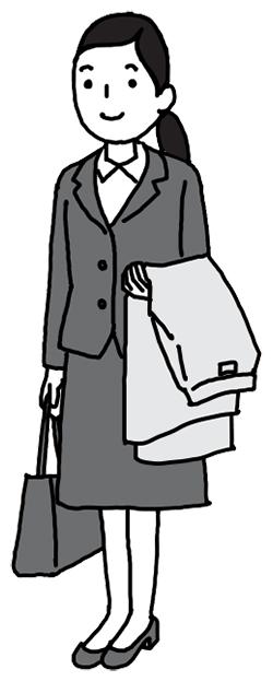受付を済ませてお客様をお待ちするときのイメージ フランドル×ノビテクマガジン タイアップ企画Vol.1