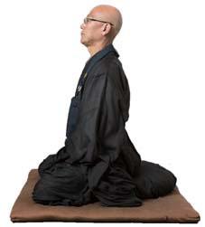 """BodyWork2 """"自律""""を体現する、坐禅の姿勢"""